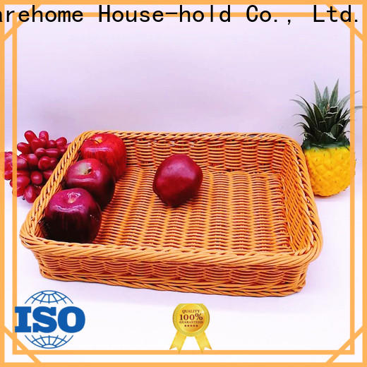 Carehome wicker fruit basket wholesale for shop