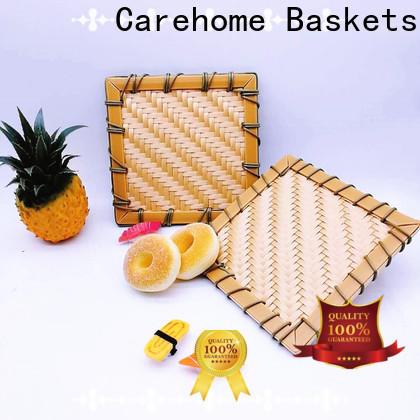 graceful bamboo basket storage handicraft for family