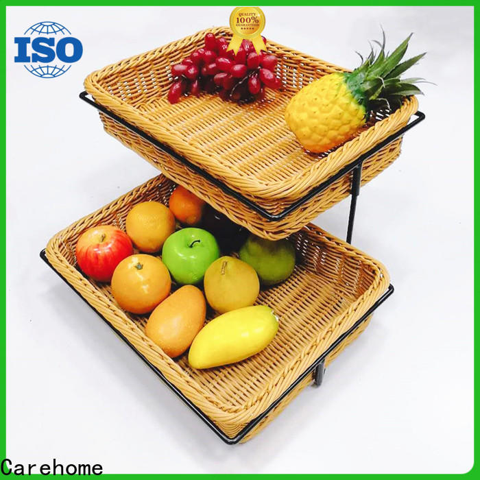 food safety shopping wicker basket big supplier for shop