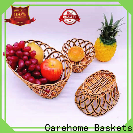 Carehome strong wicker gift baskets wholesale for sale
