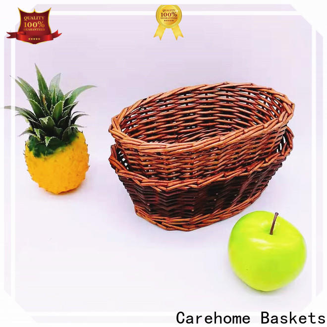 durable craft gift basket bamboo supplier for family