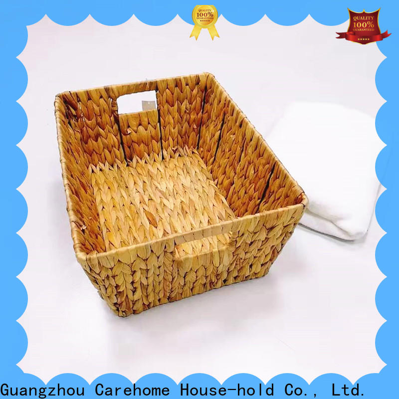 Carehome mothproof seagrass basket with handles on sale for supermarket