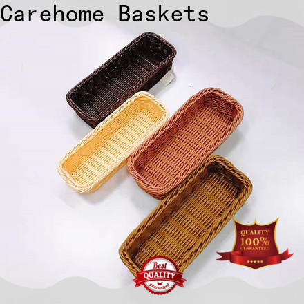 Carehome bamboo restaurant basket supplier for market