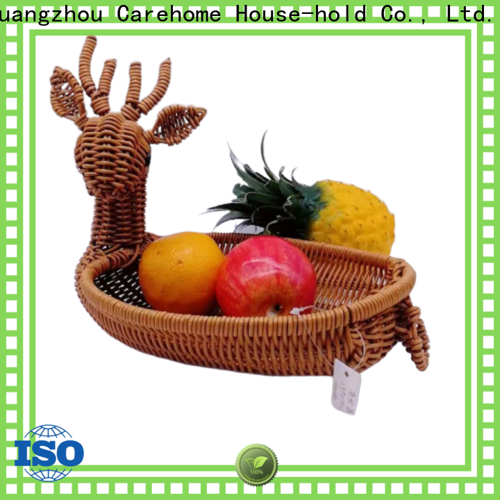 Carehome durable wicker gift baskets wholesale for sale