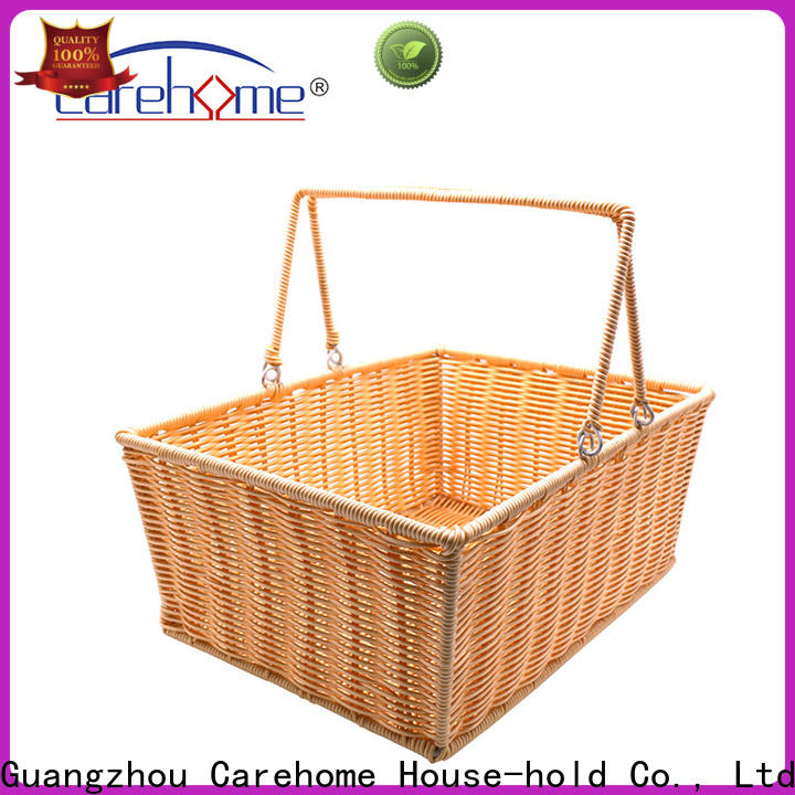 Carehome durable grey hamper basket easy to clean for market