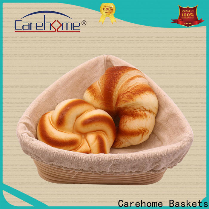 Carehome foodcontact wooden bread basket wholesale for supermarket