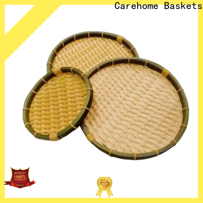 Carehome bamboo chinese bamboo basket on sale for shop