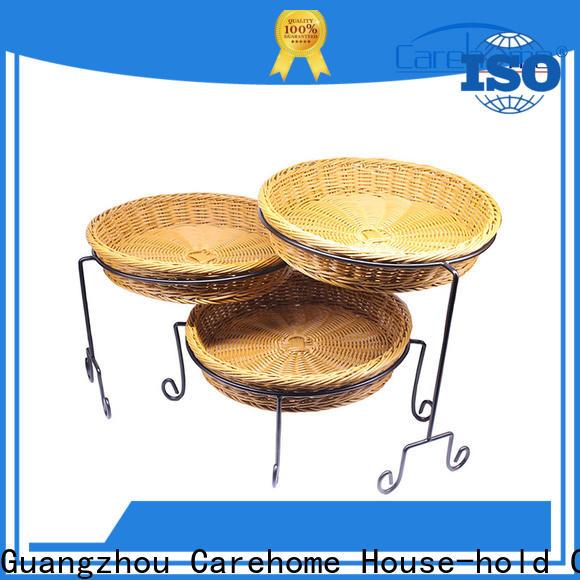 Carehome lb1024 wicker storage baskets for shelves manufacturer for supermarket