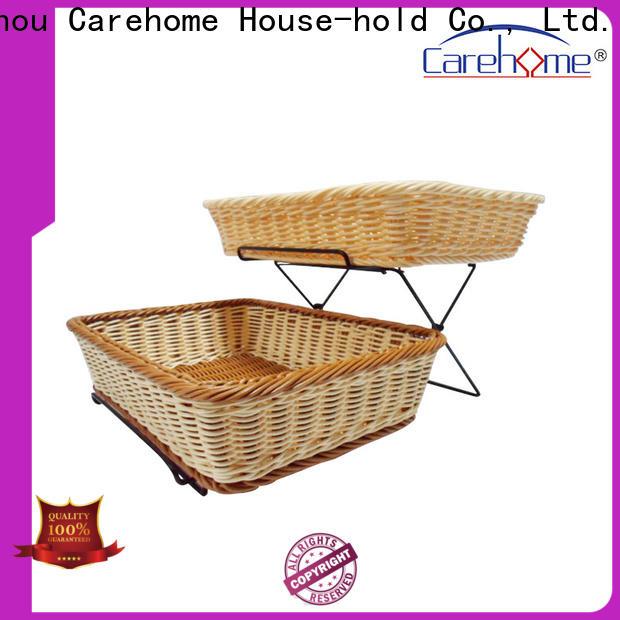 handmade wooden bread basket rectangle wholesale for market
