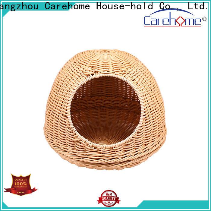 Carehome lovely pet basket bed supplier for market