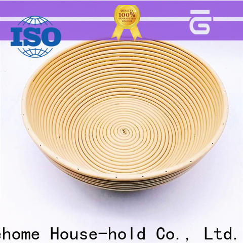 plastic rattan bread basket square with high quality for supermarket