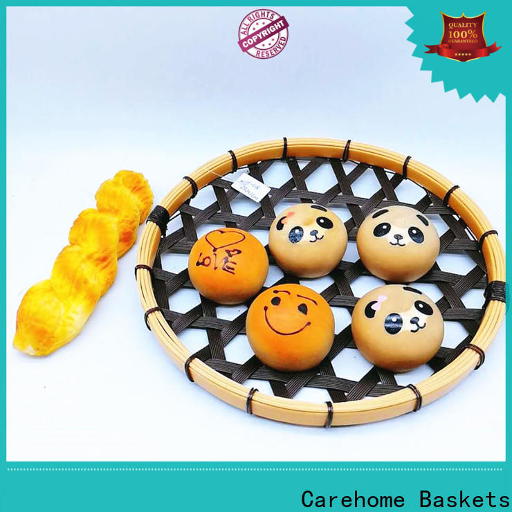 Carehome suitable Bamboo Basket ecofriendly for supermarket