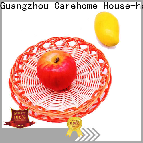 Carehome handicraft rattan bread basket manufacturer for family