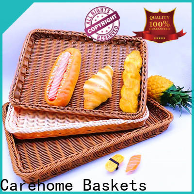 Carehome displaying bakery display baskets with high quality for shop