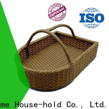 Carehome washable handle basket supplier for sale