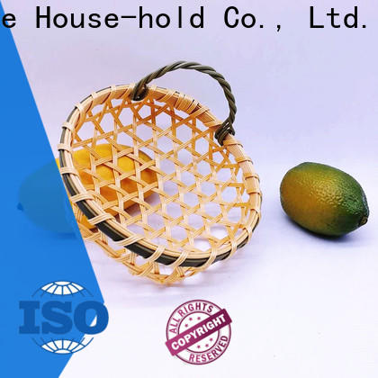 Carehome using square bamboo basket ecofriendly for shop