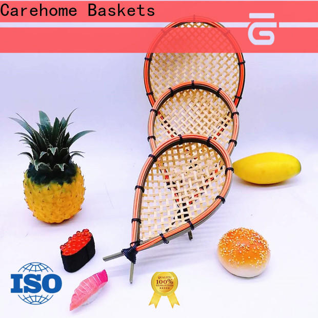 Carehome basket polywicker baskets easy to clean for supermarket
