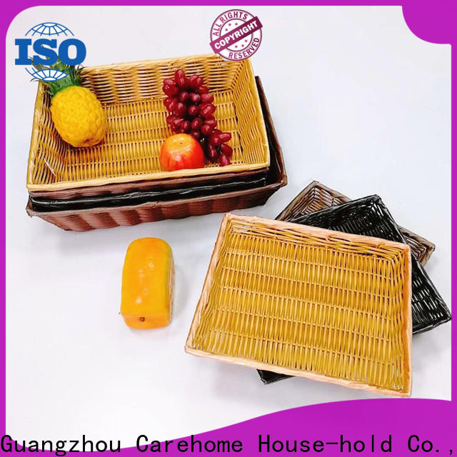 Carehome plastic bakery display baskets supplier for sale