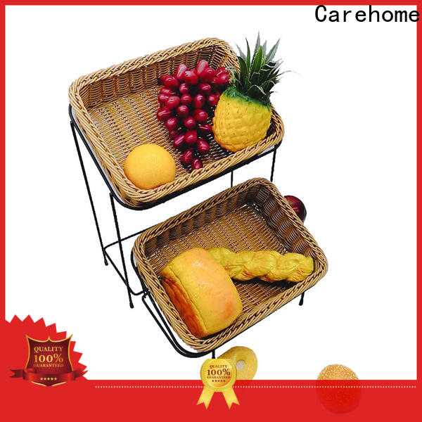 Carehome tray bamboo bread basket wholesale for shop