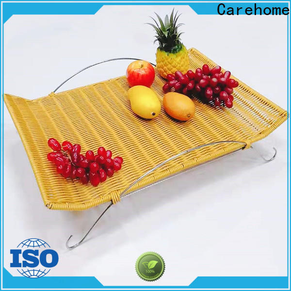 Carehome bamboo wooden bread basket supplier for family