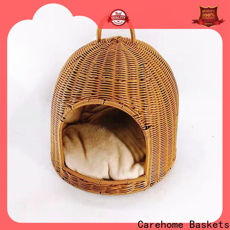 Carehome washable pet basket with certificates for market