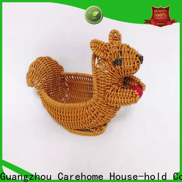 Carehome tray wicker gift baskets manufacturer for family