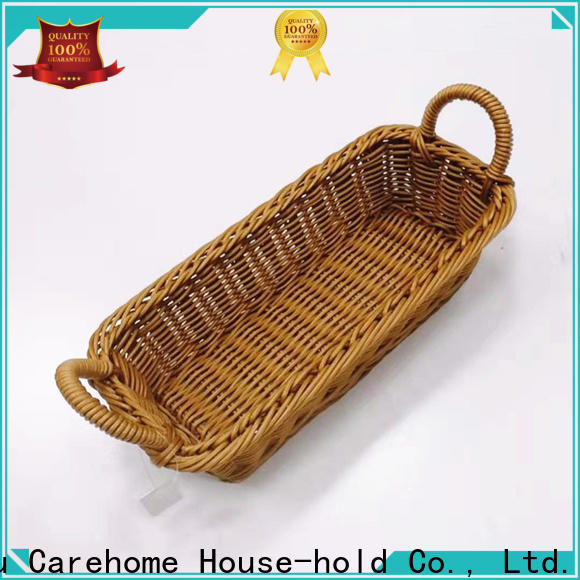 Carehome foldable storage baskets manufacturer for family