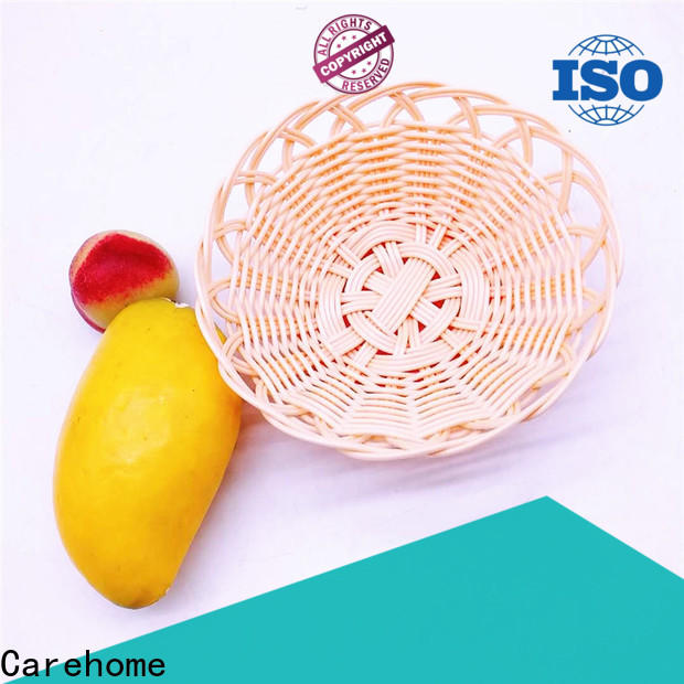 foldable wicker storage baskets for shelves durable supplier for supermarket