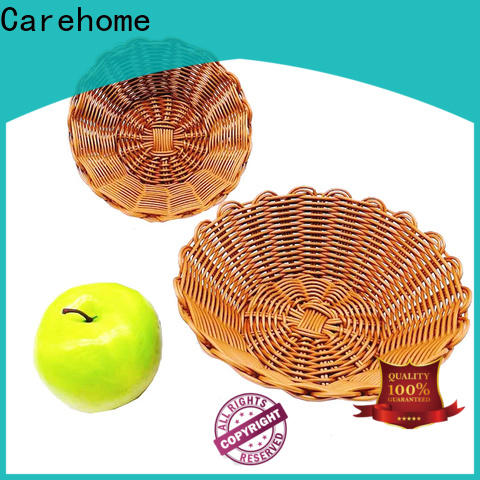Carehome design wicker baskets kitchen with high quality for supermarket