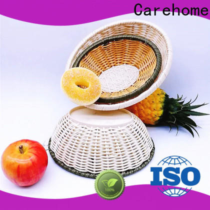 round bamboo baskets cheap handicraft easy to clean for sale