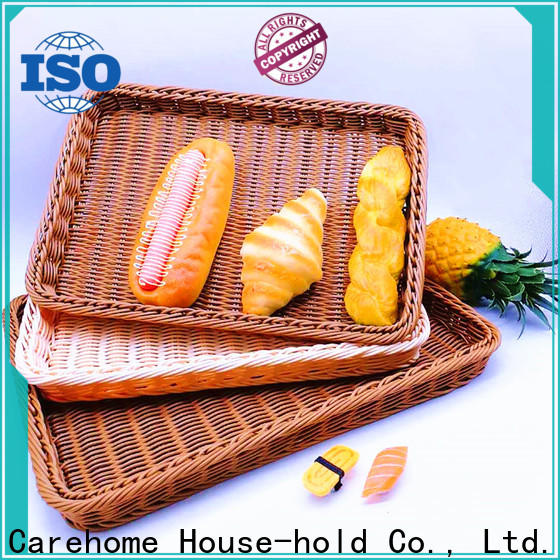 Carehome tray rattan bread basket manufacturer for sale