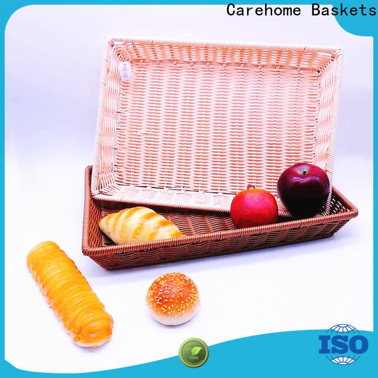Carehome br2038 bakery display baskets manufacturer for family