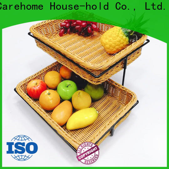 Carehome trm1042 bamboo bread basket wholesale for shop
