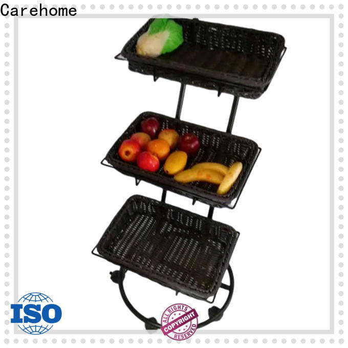 food safety shopping wicker basket rattan manufacturer for market