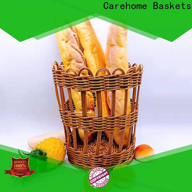 Carehome foldable bakery basket supplier for supermarket