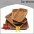 Carehome foldable wicker storage baskets for shelves wholesale for supermarket