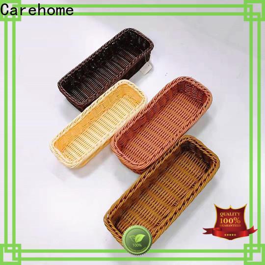 bamboo wicker baskets kitchen tray supplier for supermarket