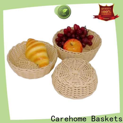 Carehome oval bakery display baskets manufacturer for family