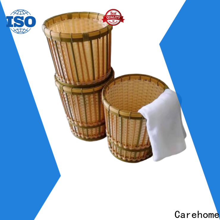 Carehome colorful small bamboo basket for shop