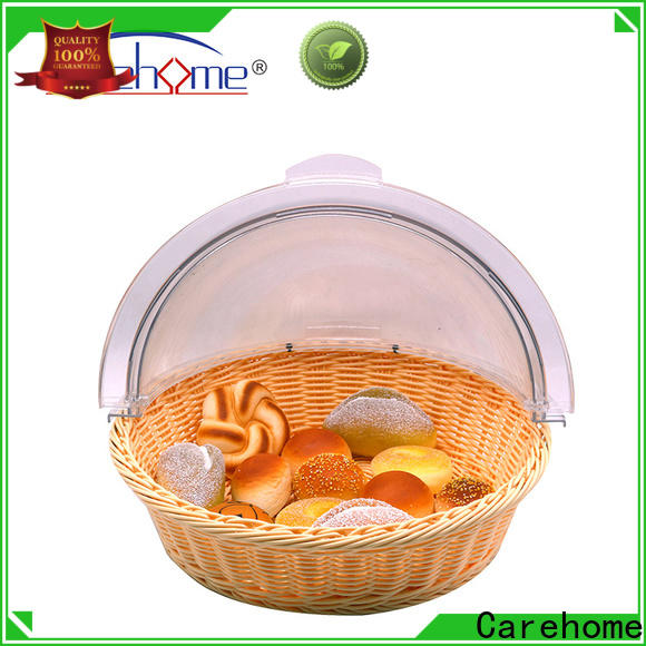 wicker bread basket weaved with high quality for family