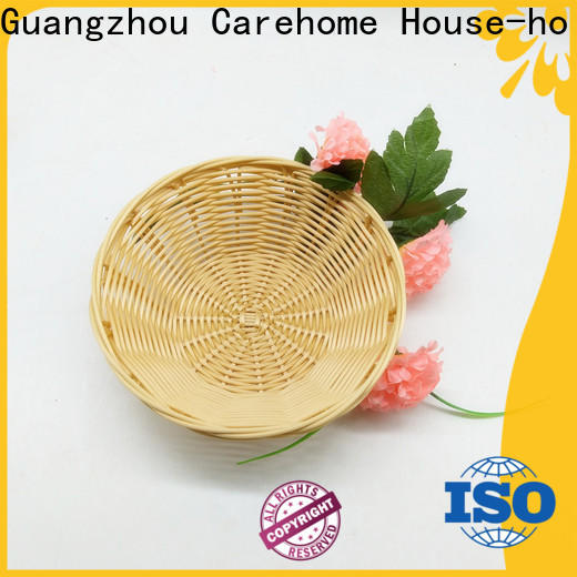 handmade wicker storage baskets for shelves flower supplier for market