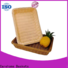 handicraft wooden bread basket display with high quality for shop