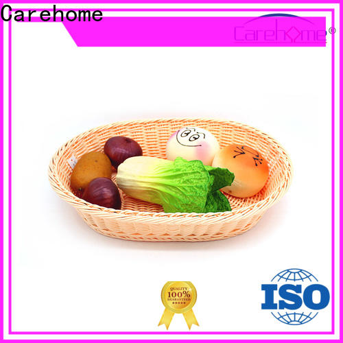 Carehome microwave safety wooden bread basket wholesale for supermarket