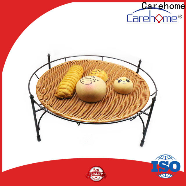 handicraft bamboo bread basket handcraft manufacturer for shop
