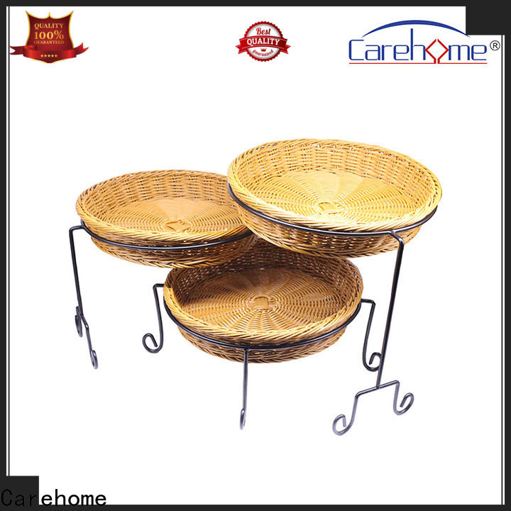 Carehome plastic plastic bread basket with high quality for sale
