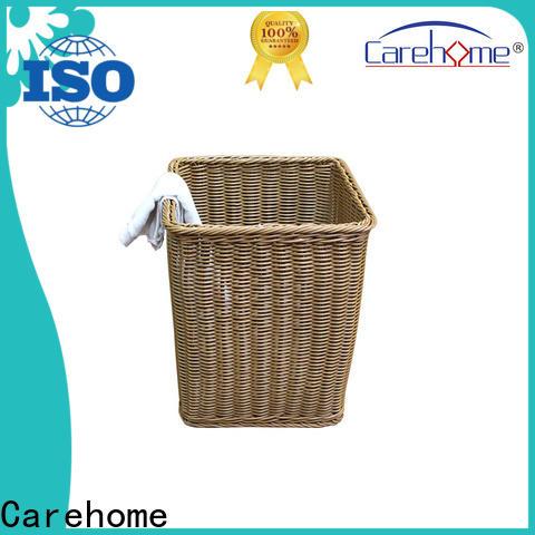 mothproof wicker laundry basket handle manufacturer for sale
