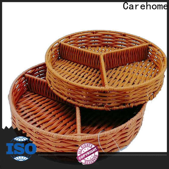 Carehome durable storage baskets with certificates for market