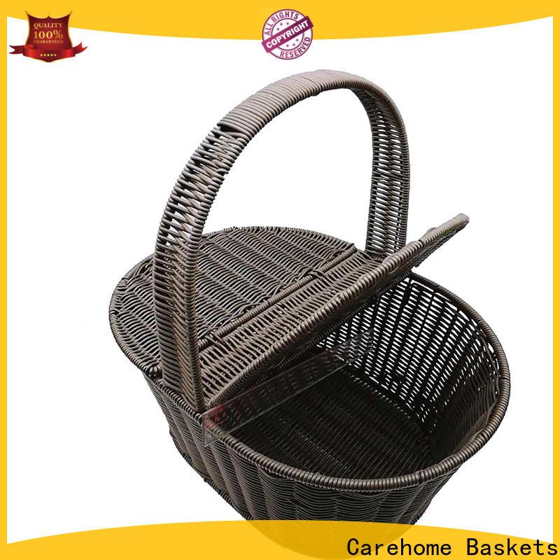 Carehome natural hamper basket set supplier for shop