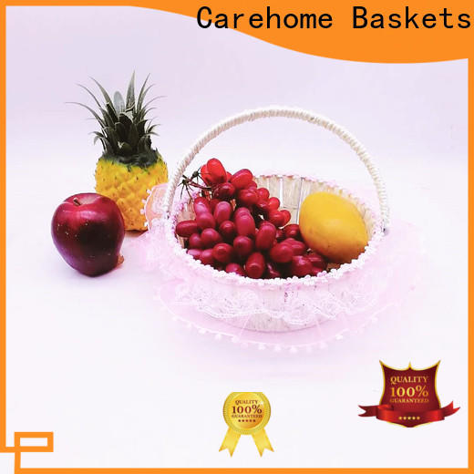 Carehome hot wicker gift baskets supplier for supermarket