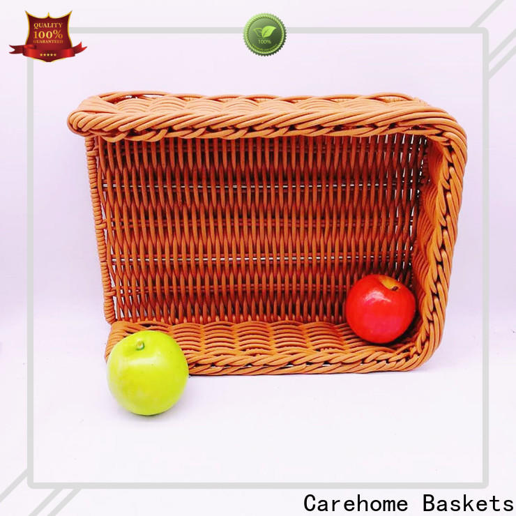 Carehome bread shopping wicker basket wholesale for family